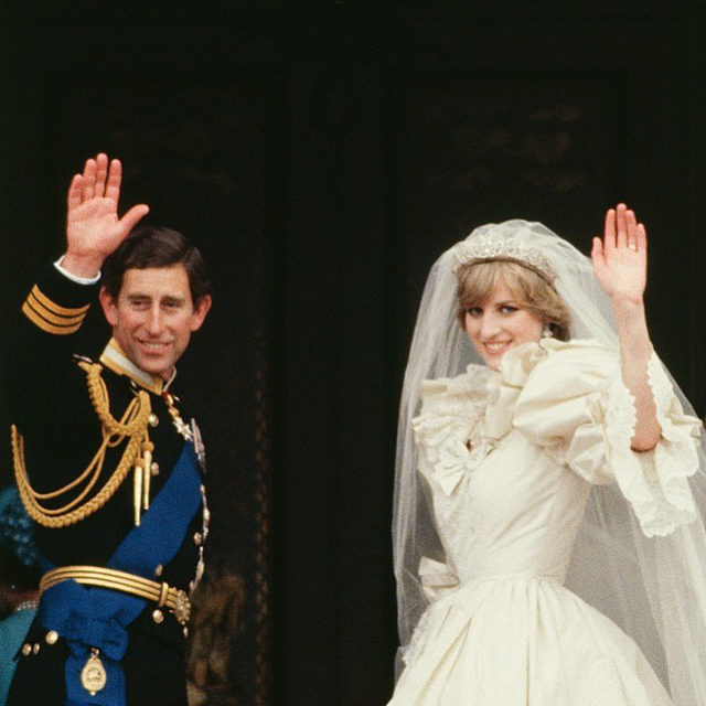 """39 years ago today, Princess Diana said """"I do"""" at her iconic royal wedding...and broke a lot of rules in the process. 👑 Head to the #linkinbio to see the traditions she broke to make sure her day was exactly that, hers💓 📸: @gettyimages"""