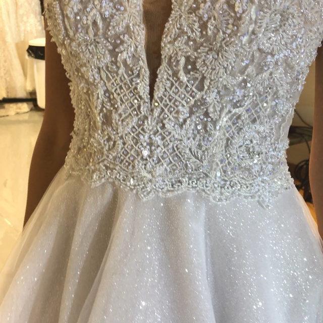 The most #magical sparkle 🤩✨ Starlet, Style 2145 ✨ . . . @madelinegardner #madelinegardner #morileebride #designerweddingdresses #weddingdesigner #bridal #bridalgown #instawed #weddingseason #realweddings #weddedbliss #weddingshoot #bride2019 #realbride #sayyestothedress #isaidyes #bride2be #pride #love #bridalgowns #bridalgown #modernbride #classicbride #dresscometrue #2020wedding #romantic #brides