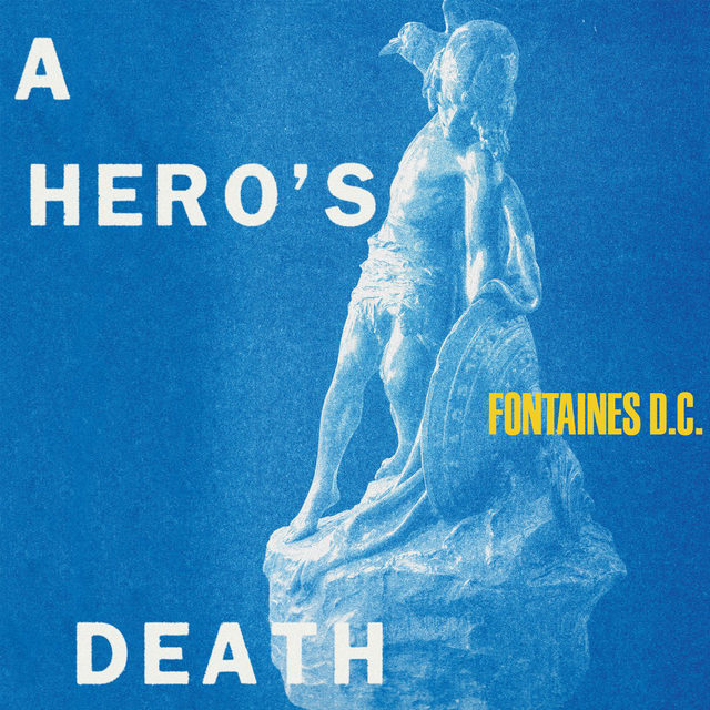 Heady, funny, and fearless, Fontaines D.C.'s (@fontainesband) second album is a maudlin and manic triumph, a horror movie shot as comedy, equal parts future-shocked and handcuffed to history. Head to the link in our bio to read more about it. — #AHerosDeath #Rock #RockMusic
