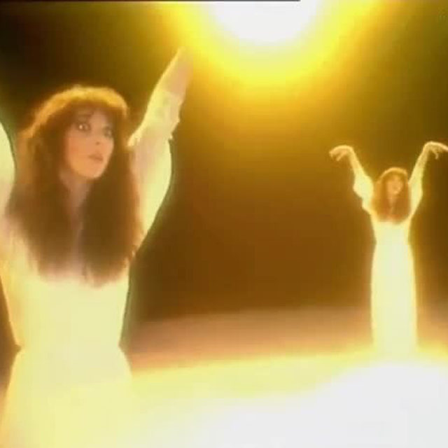 "Having studied with English actor and mime Lindsay Kemp (who worked with David Bowie as well) for ""Wuthering Heights,"" Kate Bush's training is reflected in the video's stunningly expressive choreography, a combination of ballet, mime, and theater. See where it ranked on our list of The 25 Best Music Videos of the 1970s at the link in our bio."