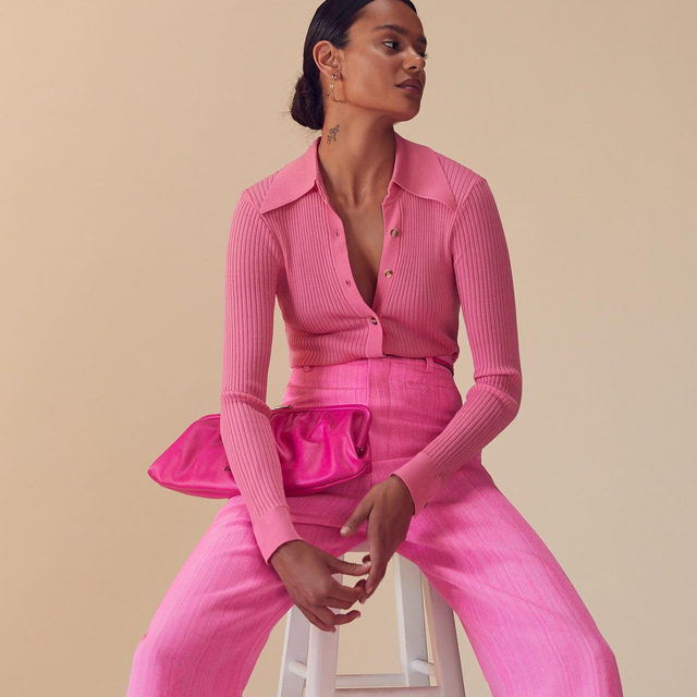 RETHINK PINK • reintroduce this palette to your wardrobe for a pretty pop of color - link in bio to shop