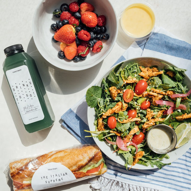 We're here to make the most of summer, and what's summer without a crisp salad and a tasty fruit cup? Peak freshness is the star of our new seasonal grab and go items made by our chef, in store and online now.