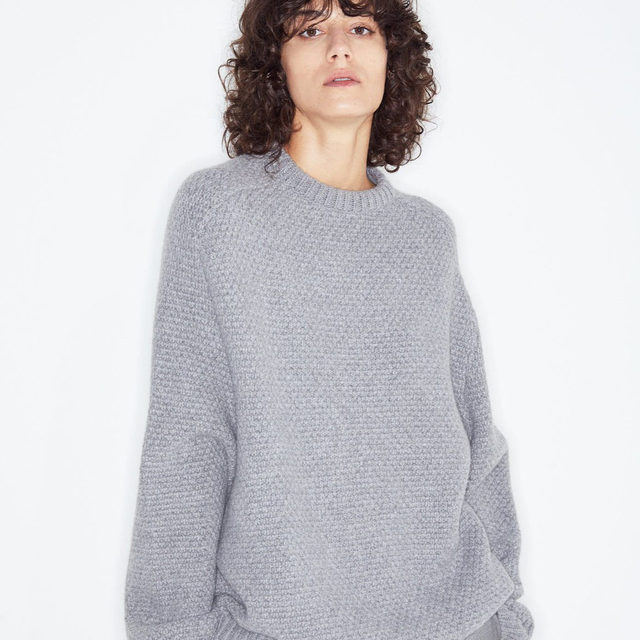 Knit. #Raey basketweave wool sweater. Shop it now at @MATCHESFASHION #MATCHESFASHION.