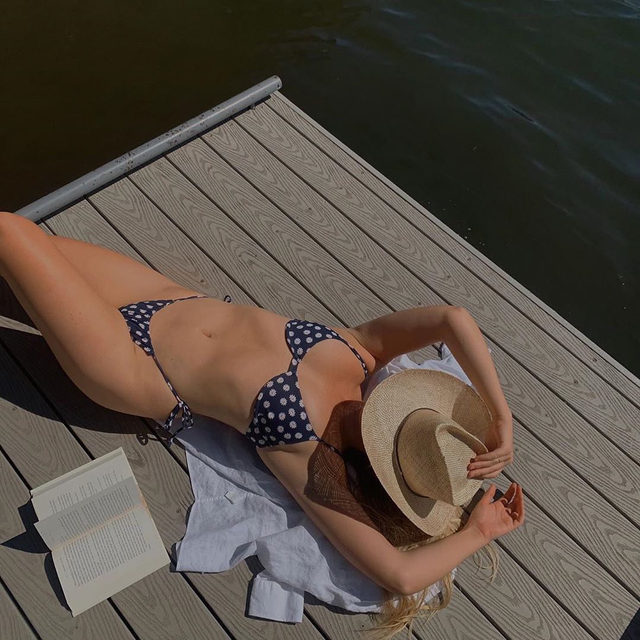 BEST OF THE WEST • @linneakatharine in the new @gladystamezmillinery levi straw hat - link in bio to preorder yours now! #lookFWRD