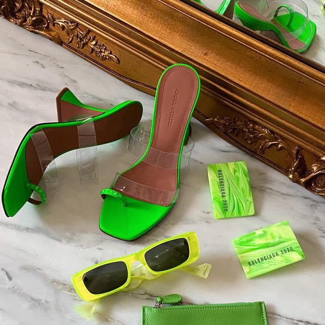 GREEN WITH ENVY • link in bio to shop! #lookFWRD