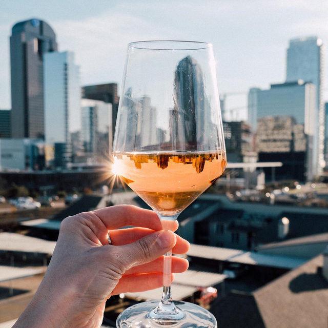 A toast to the end of Rosé season. It's been an interesting one, but glad you were there the whole way. Cheers!