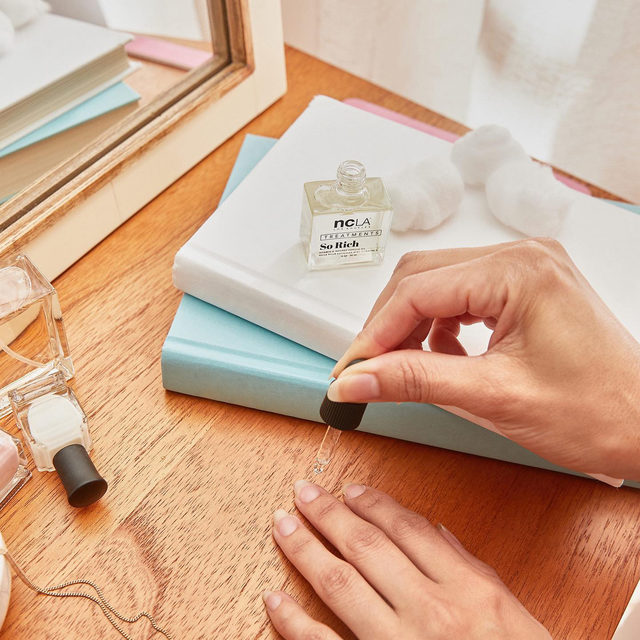 Give your hands some TLC with @nclabeauty's So Rich Cuticle Oil in Horchata! Formulated with Vitamin E, this luxe nail treatment will leave your cuticles feeling soft and nourished. Get items like this when you become a member! Link in bio.