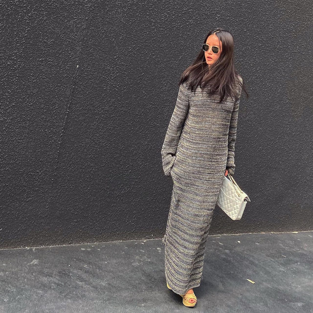 Spotted: @jellyjelly00's #Raey maxi stripes. Share your style by tagging @raeyofficial and #Raey.