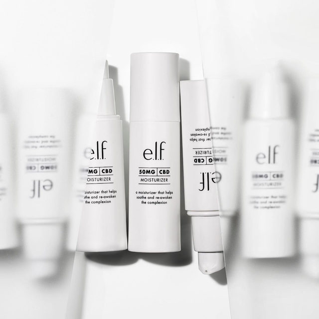 Give your skin the peace it needs with 50mg CBD Moisturizer 🌱 Infused with hyaluronic acid and sweet almond oil known to help retain skin's moisture and notes of Japanese citrus and chamomile to awaken the senses. Click the #linkinbio to shop on elfcosmetics.com ✨#eyeslipsface #elfingamazing #elfcosmetics #crueltyfree #vegan