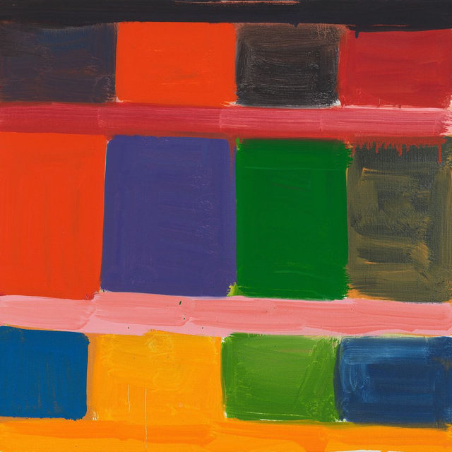 #StanleyWhitney: An exhibition of new paintings by Stanley Whitney, produced both in New York and in the artist's studio near Parma, Italy, opens tomorrow at Gagosian, Rome.  Although Whitney has been deeply invested in chromatic experimentation throughout his career, he consolidated his distinctive approach during a formative trip to Italy in 1992, shifting his compositions from untethered amorphous forms to the denser stacked arrangements that characterize his mature style. It was Roman art and architecture—including the imposing facades of the Colosseum and the Palazzo Farnese and the stacked shelves of funerary urns on display at the National Etruscan Museum—that informed Whitney's nuanced understanding of the relationship between color and geometry.  To celebrate the opening, an evening of poetry and jazz with Elisa Biagini and Go_Dex Quartet will be held from 5pm to 8pm at Fondazione Nicola Del Roscio, via Francesco Crispi 18. Follow the link in our bio to learn more. __________ #Gagosian @stanley.whitn