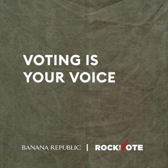 No matter who you are, where you're from or what language you may speak, your vote matters. Let your voice be heard loud and clear by registering to vote.  This year we are partnering with @RocktheVote to motivate our community to use their voice and vote.  Use the link in bio to register. #VotingIsYourVoice