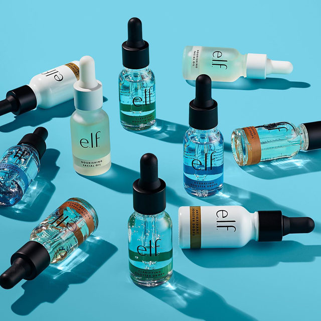 Customize your skin routine with our Booster Drops by mixing a few drops into your moisturizer or foundation ✨  -Clarifying (formulated with Tea Tree Oil and Witch Hazel to help clarify the skin) -Sunkissed (formulated with Vitamin E and Aegean Oil for radiant, nourished skin) -Antioxidant (formulated with Snow Mushroom Extract and Vitamin C & E for added antioxidant protection) -Hydrating (formulated with Vitamin E for instant hydration and plump looking skin)  -Nourishing (formulated with Rosehip Seed Oil, Grapeseed Oil, Sweet Almond Oil and Avocado Oil to moisturize and nourish the skin)  Tap to shop our Booster Drops on elfcosmetics.com 💖 #eyeslipsface #elfingamazing #elfcosmetics #crueltyfree #vegan