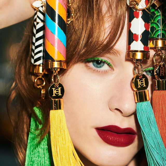 The #HerreraBeauty lipsticks: Are you obsessed yet? You will be once you see our selection of accessories. Customize yours with one of 10 rainbow-hued tassels and signature charms including the iconic Jasmine, the Beetle and the Herrera Alphabet. Buy online at carolinaherrera.com for Spain and UK.