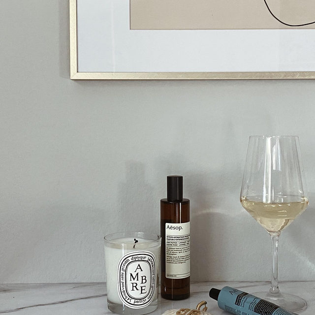 FRIDAY NIGHT FILES • all the at-home essentials from @aesopskincare @diptyque + more - link in bio to shop! #lookFWRD
