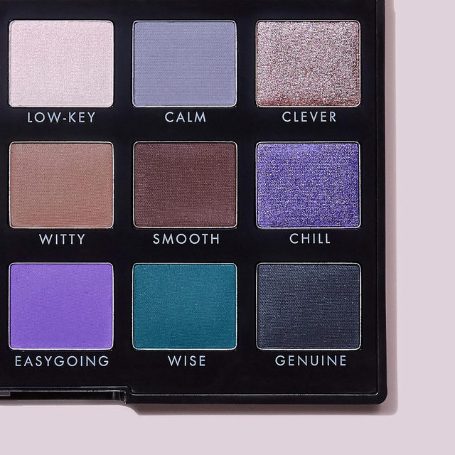 Comment which shade best describes you below👇😉 The cool-toned side of our 18-piece Opposites Attract Eyeshadow Palette has matte, satin and shimmer shades that are creamy and blendable so you can easily create a wide range of looks .  Tap to shop for $14 #eyeslipsface #elfingamazing #elfcosmetics #crueltyfree #vegan