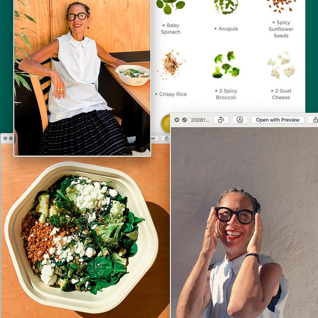 First there was Nancy's Chopped (anyone else still dreaming/drooling about it?), now there's Nancy's Custom. Starring 3x spicy 🥦+ 2x goat cheese for one perfectly cheffy bowl. Head to our stories for the whole scoop (or two) and then eat like @nancysilverton — only on the sg app + online.