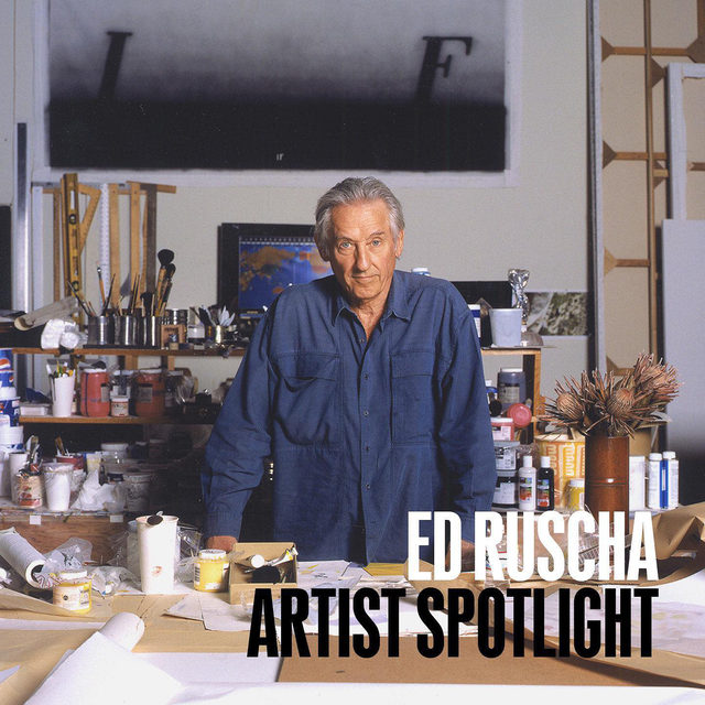 """#GagosianSpotlight: This week, Ed Ruscha features in our Artist Spotlight series. At the start of his artistic career, Ruscha called himself an """"abstract artist . . . who deals with subject matter."""" Abandoning academic connotations that came to be associated with Abstract Expressionism, he looked instead to tropes of advertising and brought words—as form, symbol, and material—to the forefront of painting. Working in diverse media with humor and wit, he oscillates between sign and substance, locating the sublime in landscapes both natural and artificial. Ruscha's formal experimentations and clever use of the American vernacular have evolved in form and meaning as technology alters the essence of human communication.  Ruscha's Artist Spotlight features five recent works on paper by the artist. The works will be unveiled on gagosian.com on Friday, September 18, at 6am EDT. A surprise offering by the artist will be revealed on Sunday, September 20. Follow the link in our bio to learn more. __________ #EdRuscha #G"""