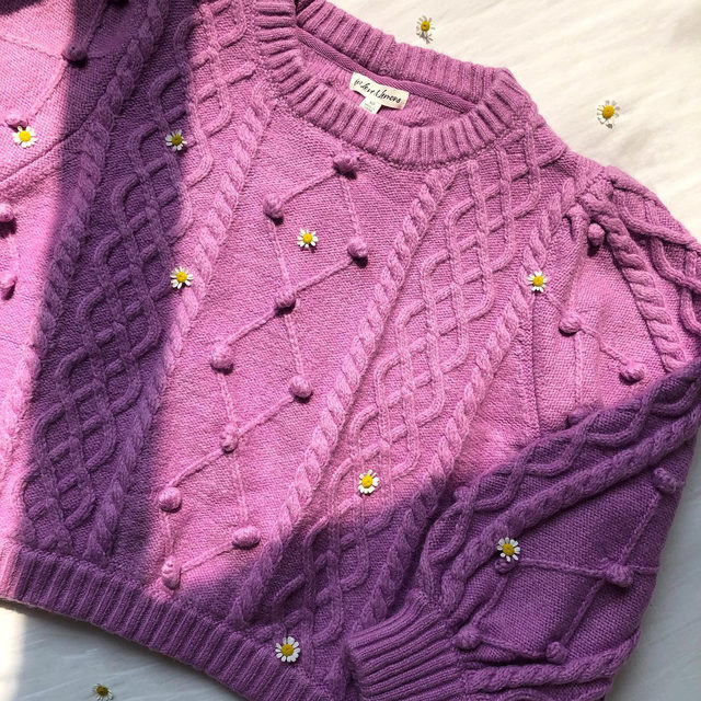 The best time to wear the Florentina Sweater is all the time