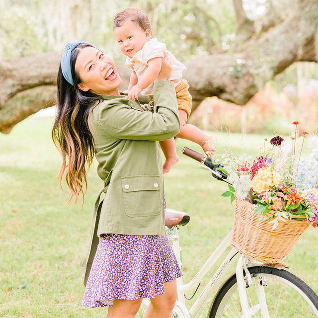"""""""Motherhood has been one of the most joyful yet challenging experiences of my life,"""" says Houston-based influencer Joy Green of raising her daughter, Kai, and son Bodhi (pictured). """"I used to think that as a parent, we shape our children into who they become, but it's truly the opposite."""""""