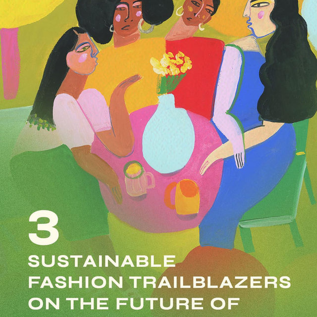 """""""Sustainability"""" has become this buzzword used by big fashion brands to social media influencers alike, leading to a sustainable-fashion movement that often leaves out Black and brown people — many of whom are the most impacted by the same things people are fighting against. For #WhatIsFashionNow, @tahairy talked to three women of color and sustainable fashion trailblazers @mayasideas, @greengirlleah, and @aditimayer about boycotts, consumerism, and why """"every choice that you make has an impact on your community, on the environment."""" #linkinbio 🌎 illustration by @analeovy, graphics by @lizcoulbourn"""