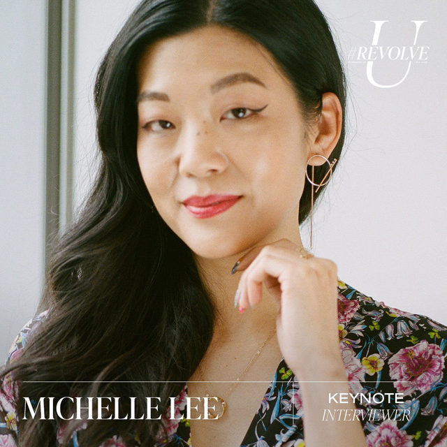 Since committing to the role as editor-in-chief of @allure, @heymichellelee has been committed to championing diversity and expanding the definition of beauty. Prior to joining Allure, Lee was editor-in-chief and chief marketing officer at @nylonmag and held senior staff positions at Mademoiselle and @glamourmag. Lee's dedication to changing the conversation about inclusion in beauty continues to be recognized and celebrated by the industry—she was named @adweek's Editor of the Year while Allure won Adweek's Magazine of the Year.  tune in to this convo with @mirandakerr & @heymichellelee on Sun 9.27 @ 12PM PST ❤️ LIVE on our YouTube - youtube.com/revolve  use our link in bio for more info, dates & times! ✨#REVOLVEU