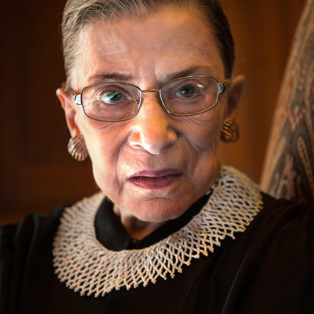 "Ruth Bader Ginsburg, the trailblazing Supreme Court justice who advocated passionately for women's rights, has died at 87. Appointed to the court by Bill Clinton in 1993 and one of the most reliably liberal votes on the Court, Ginsburg had survived cancer several times; the cause of death, according to her family, was complications from metastatic cancer of the pancreas. ""Our nation has lost a justice of historic stature,"" Chief Justice John Roberts said in a statement to NPR. ""We at the Supreme Court have lost a cherished colleague."" Read the full story at the link in bio."