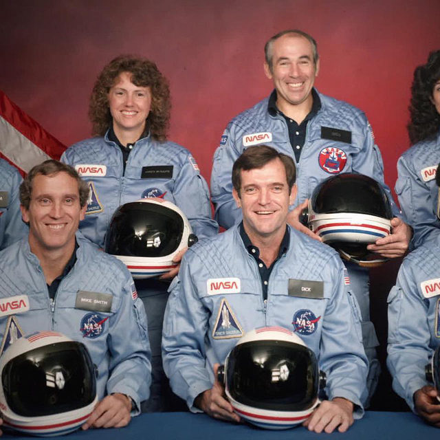 "Forty-six people in Brevard County, Florida—the home of Cape Canaveral—have died this month from complications due to coronavirus. There won't be a national day of mourning for those residents, it seems, or for the more than 190,000 others who have died nationwide. But 34 years ago, when seven astronauts died in the Challenger explosion shortly after takeoff from the Kennedy Space Center, the tragedy arguably changed an entire generation.  The new four-part series Challenger: The Final Flight is a painstaking, heartbreaking, and often infuriating watch, providing viewers with not only a full picture of the seven astronauts who died in the explosion, but the systemic failures and hubris that led to the crash. ""The one thing that clearly separates the Challenger tragedy from the pandemic is: It's really hard to politicize a spaceship vehicle disintegrating before our eyes,"" Glen Zipper, cocreator of the Netflix documentary, told V.F. in a recent interview. Read more at the link in bio."