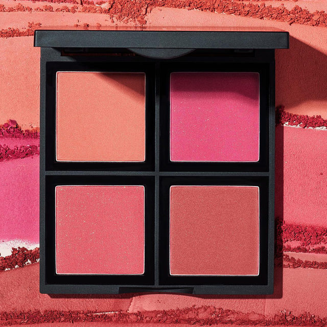 Blushes for any mood in one palette ☺️ Our Powder Blush Palette in Dark gives you four blush shades to mix and match to create your perfect blush look 💖   Tap to shop for $8! #eyeslipsface #elfingamazing #elfcosmetics #crueltyfree #vegan