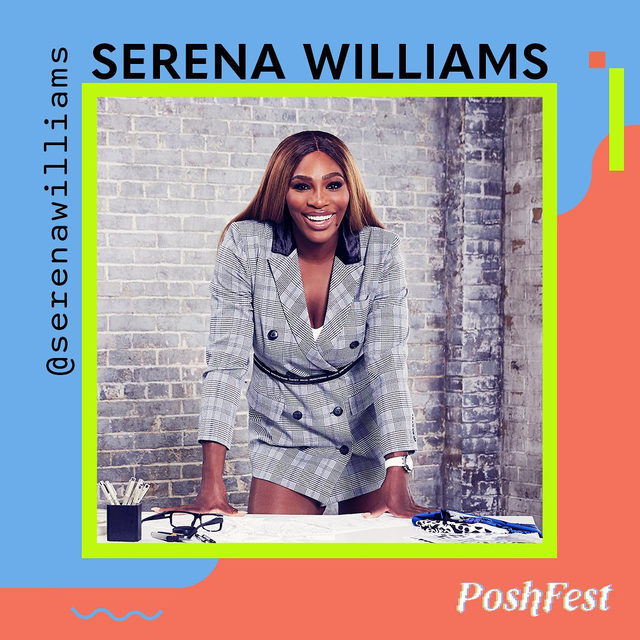 We've got some exciting news…🥁 drumroll please 🥁 Businesswoman, tennis champion, and Poshmark board member, Serena Williams, is joining us at #PoshFest2020! 🌟 Get ready for an inspiring conversation with @serenawilliams and our founder & CEO, Manish Chandra (@marrc), about what it means to be a world-class athlete and entrepreneur in 2020.  📺 This chat is taking place during PoshFest on Saturday, 10/3 but will be available for everyone to tune in on our YouTube channel, tap our link in bio to subscribe now.