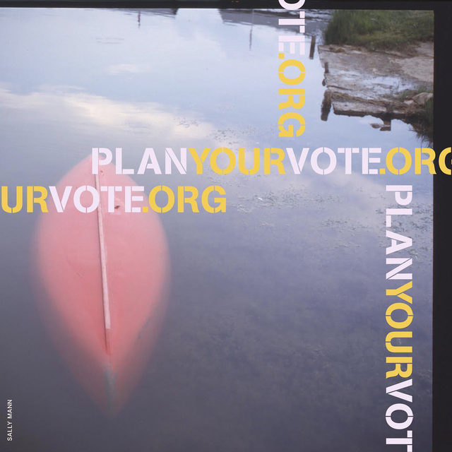 #PlanYourVote: Created in 2020, Plan Your Vote is an initiative of Vote.org that harnesses the power of the visual arts to promote and empower citizens to exercise their right to vote. The organization has collaborated with artists, including Davide Balula, Sally Mann, and Patti Smith, to create a public library of voting advocacy images, available for anyone to download and share, in order to help ensure everyone has a voting strategy and is vote ready. Visit vote.org to check if you are registered to vote, to register, or learn more about your voting rights. __________  #Vote #VoteReady #SallyMann #Gagosian @planyourvote @a_thousand_crossings Artwork © Sally Mann
