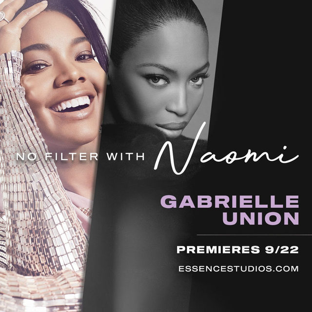 No Filter With Naomi and special guests is premiering on EssenceStudios.com starting tomorrow! The weekly series features candid conversations with some of the most elite figures in the entertainment, fashion and beauty industries. Tune in on #EssenceStudios.