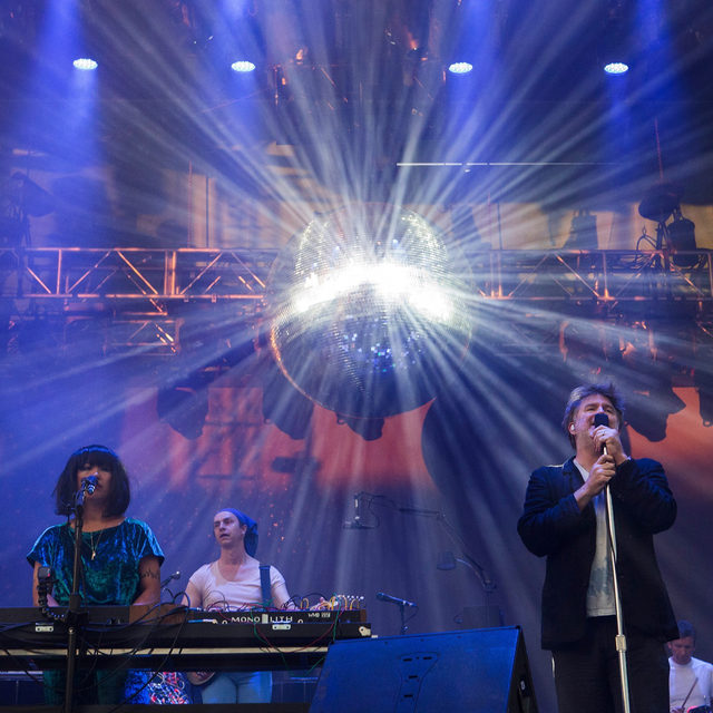 Missing live music? Join us this Saturday for the Best of Pitchfork Music Festival livestream. We'll be showing rare and archival performances from past festivals including @lcdsoundsystem, pictured here at @pitchforkfest in 2017. Tune in on our website or YouTube channel this Saturday beginning at 7 p.m. Eastern, and get more info at the link in our bio.  📷 by Barry Brecheisen/WireImage  #LCDSoundsystem #MusicFestival #PitchforkMusicFestival #LiveMusic