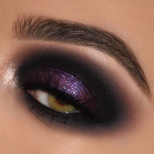 Don't mind us, we'll just be staring at this gorgeous eye look all day 😍 @nataliya_makeup used our Putty Eye Primer in Rose, The New Classics Palette and Liquid Glitter Eyeshadow in Purple Reign to create this mesmerizing purple look 💟 Tap to shop! #eyeslipsface #elfingamazing #elfcosmetics #crueltyfree #vegan