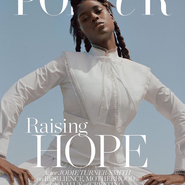 @jodiesmith on the cover of @portermagazine's October issue in our FW20 Removable Collar Top Photographed by @dritch and styled by @natasharoyt #ToryBurchFW20 #ToryEditorials #ToryBurch
