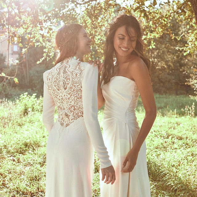 Pronovias group is sharing its love for the planet with #WeDoEco, the first sustainable bridal designs as part of a larger mission: a better and more sustainable bridal industry.💚 More about #WeDoEco on our highlight! #HappyWorld
