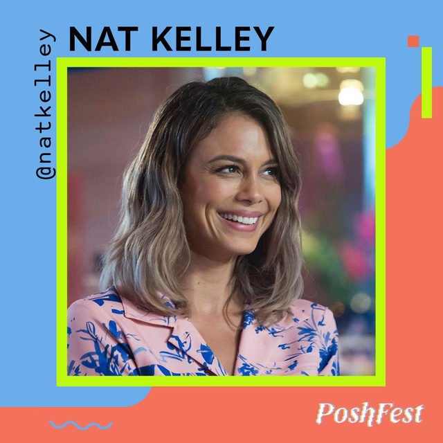 "🎤 Speaker alert–Activist, actor, and aspiring regenerative human, Nathalie Kelley, is joining us at #PoshFest2020! ✨ Get to know how wasteful consumption habits lead @natkelley to embark on a ""no new clothes"" challenge and the importance of extending the life cycle of clothing alongside our Associate Director of New Markets, @camveronica! ♻️  📺 This chat is taking place during PoshFest on Saturday, 10/3 but will be available for everyone to tune in on our YouTube channel.  🛍 P.S. tap our link in bio to follow and shop Nat's closet on Poshmark!"
