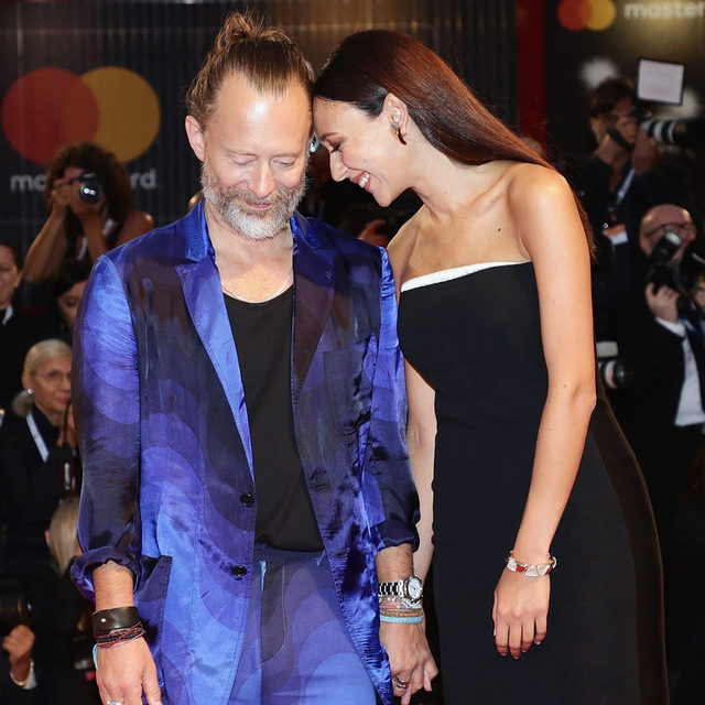 Congratulations, Thom Yorke and Dajana Roncione! The Radiohead frontman and Italian actress have gotten married. The ceremony took place in Sicily. You can see photos at the link in our bio.  📷  by Vittorio Zunino Celotto/Getty Images  #ThomYorke #Radiohead #DajanaRoncione
