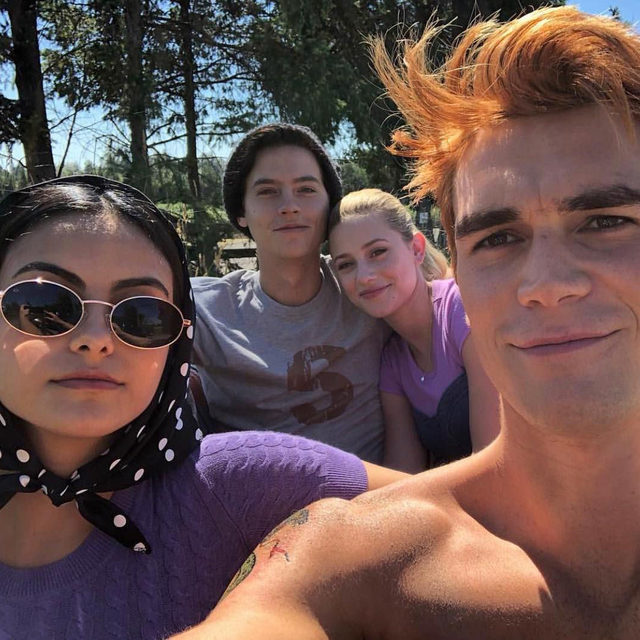 COVID-19 related changes have hit the set of #Riverdale and KJ Apa just revealed the... interesting new step they need to take before steamy makeout scenes 👀 See more at the link in bio.