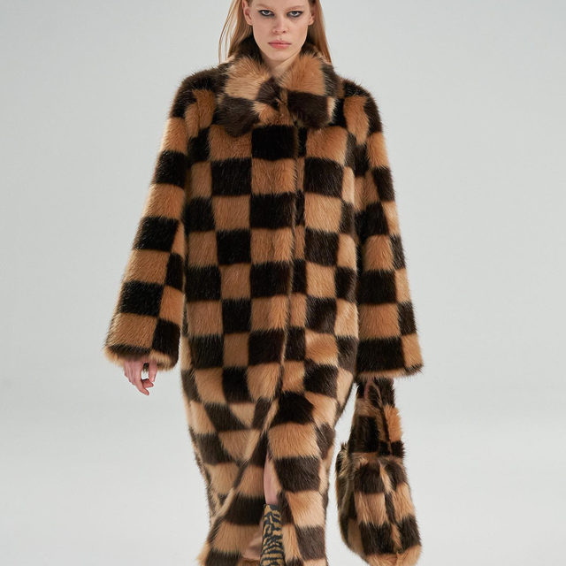 Ticking off your faux fur checklist. New from @standstudio.official's runway #brownsfashion #standstudio #runway #outerwear #fauxfur