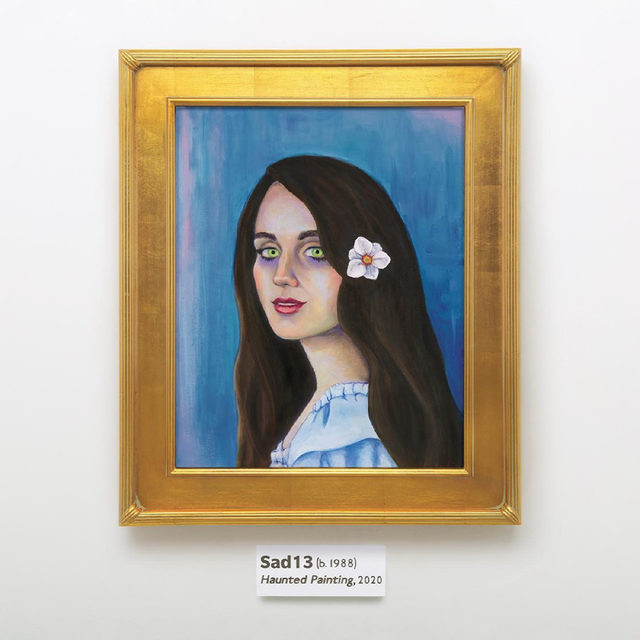 On the second album under her solo alias, @sad13 uses maximalist electronic pop to explore youth, self-perception, and a reckoning with the past. Read our review of Haunted Painting at the link in our bio.  #Sad13 #NewMusic