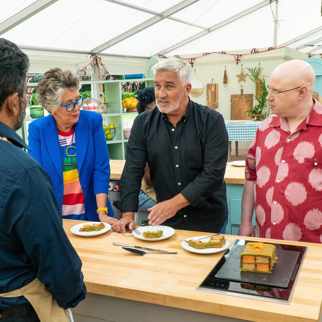The Great British Baking Show might just be TV's most-soothing series. So when the coronavirus pandemic forced the planet into lockdown this past spring, producers knew that captive audiences, more than ever, needed its pastoral, pastry-centric comfort—and they had to do it all while keeping its cast and crew members safe. Read more about the show's pandemic production bubble at the link in bio.
