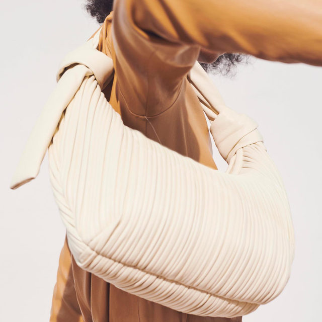 Carefree refinement with @neous' elevated take on the classic hobo bag. Available in two natural hues #brownsfashion #neous