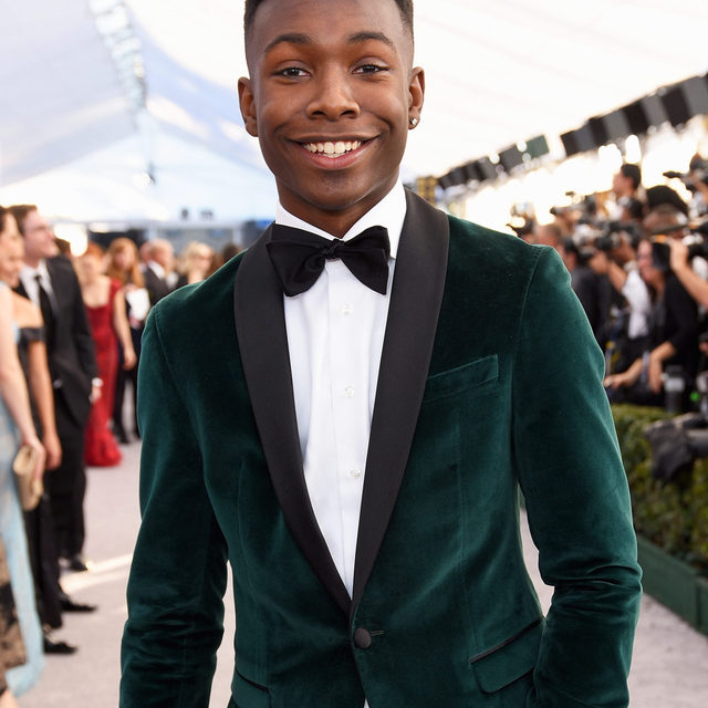 """""""To be that representation for a young Black boy that may or may not be able to see himself on television all the time, or on the big screen all the time ... that means the world to me."""" 🖤 At the link in bio, Niles Fitch opens up about what it means to be Disney's first live action Black prince."""
