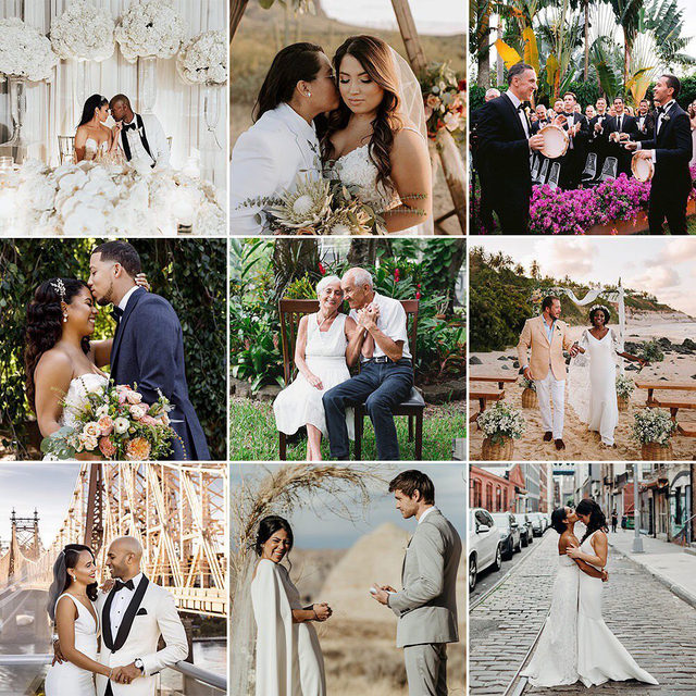 ALL love is worthy of celebration! ❤️ Head to the #linkinbio as we highlight 25 Latinx couples and what love means to them in honor of #HispanicHeritageMonth. //   Top row 📸: @inframesphotography, @megbrookephotography, @allanzepedaphoto  Middle row 📸: @amyanaizphoto, @cortiellaphotography, @volvoreta  Bottom row 📸: @amyanaizphoto, @laurkenkendall, @tarabethphotography