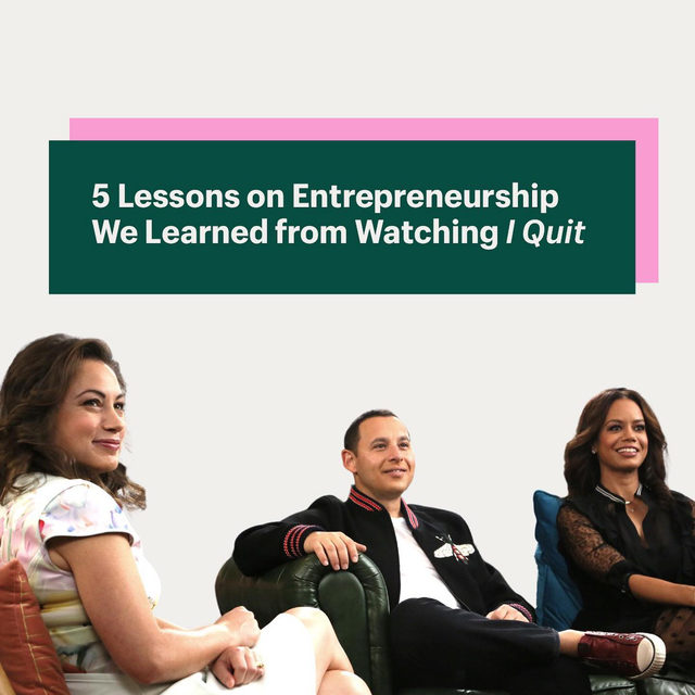 Building a business is HARD. That's why we're loving the new show  #IQuit. It doesn't sugarcoat the journey. It gets real about the ups and downs every entrepreneur has felt and it shares amazing lessons for anyone trying to navigate business challenges.   🔑 choose your partners wisely  🔑 take calculated risks 🔑 find a sales channel that works 🔑 get scrappy with your marketing  🔑 practice your pitching   Catch up now on @discovery Go and let us know what you're taking away from it. Link in Bio.