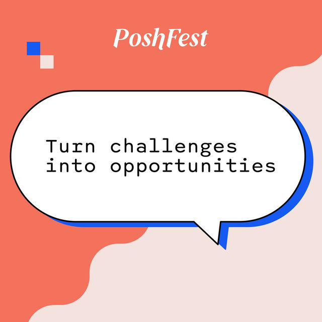 2020: the year of the PIVOT (Ross from Friends, anyone?). Four amazing Poshers: @poshbossblake, @niftythrifty00,  @yvrposhmama, and @theredpianist took to the virtual stage to share...   💪How they're staying motivated 💫How they practice self-care 🌟 How they're embracing challenges as they adapt their businesses in a world of uncertainty  Tap our link in bio to watch their inspiring panel.