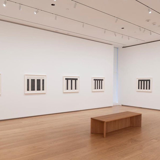 """#BriceMarden: """"Think of Them as Spaces: Brice Marden's Drawings"""" closes this Sunday at the Menil Collection, Houston.  Presenting six series of drawings that span nearly the entirety of Marden's ongoing career, this exhibition explores of the artist's draftsmanship and of the catalytic role the medium plays within his practice, highlighting the processes of invention and permutation that occur as he works and thinks on paper. Follow the link in our bio to learn more. __________ #Gagosian @planeimage @menilcollection Installation views, """"Think of Them as Spaces: Brice Marden's Drawings,"""" Menil Collection, Houston, February 21–October 11, 2020. Artwork © 2020 Brice Marden/Artists Rights Society (ARS), New York. Photos: Paul Hester"""