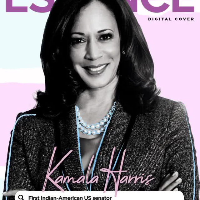 Hours away from the first and only U.S. vice-presidential debate of 2020, Kamala Harris graces the latest ESSENCE digital cover.  kamalaharris #BlackWomenLead #VPDebate ............... Photography by michaelrowephoto  Story by tanyachristian  Animation by profoundly_imani