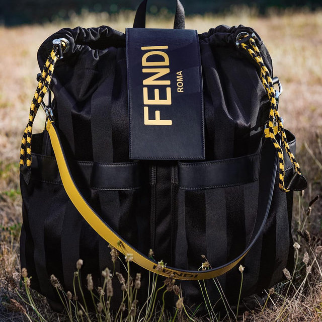 MAJOR FLAVOUR 🖤 Accessorize with some serious intent; @fendi's Flow sneakers can be zipped off with ease, while the FENDI pack will stash everything for a hike. Now available in select stores.