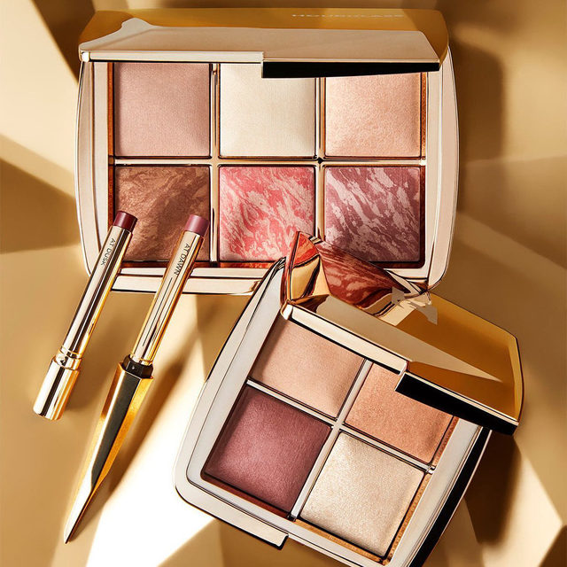 And just like that, @hourglasscosmetics figured out how to transform makeup into magic with their Sculpture collection ⚡️ Get the new, limited-edition Ambient Lighting Face Palette or Mini Ambient Lighting Edit for everything you need to finish, brighten, contour, and highlight, then seal in the look with the Confession Refillable Lipstick Duo to get that #NoFilter glow ✨